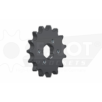 Sprocket Front 428-15T Steel