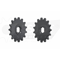 Sprocket Front 520-15T Steel